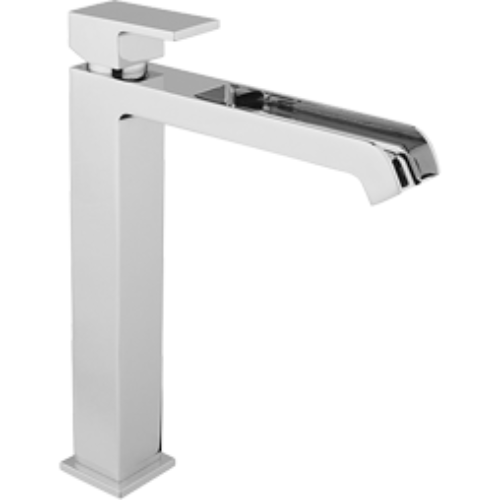 "DaxR-dax Miscelatore lavabo tipo alto ""WATER FALL"" con scarico simple rapid"