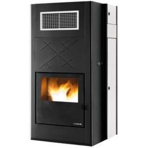 Inserto a pellet Air Force One Plus potenza 20 kW aria