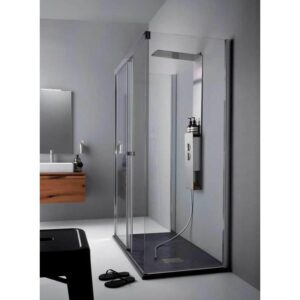 Porta box doccia 100 scorrevole Aquadesign Eight